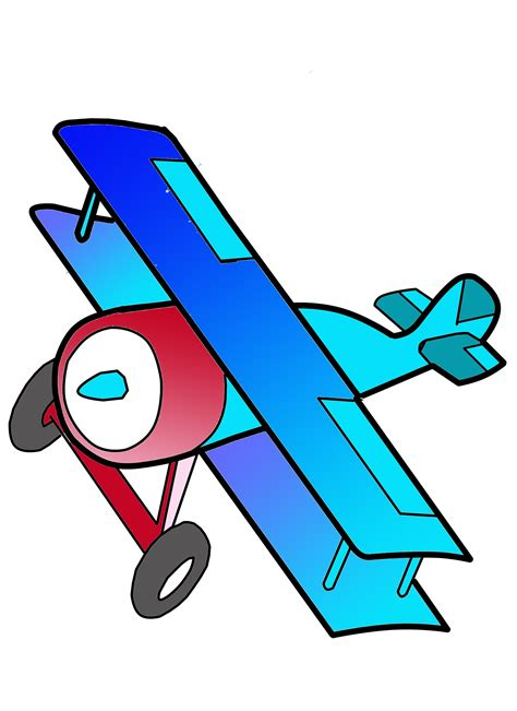 Biplane Clipart biplane free images at clker vector clip royalty free domain