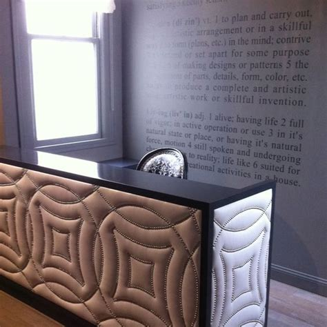 Quilted Reception Desk The World S Catalog Of Ideas