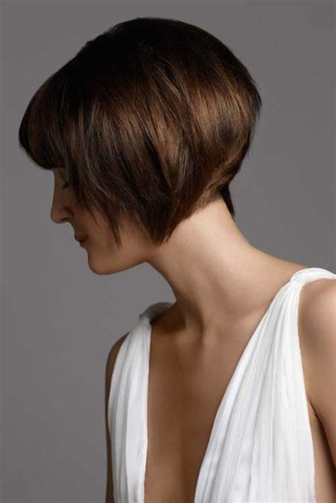 womens short bob haircut front and back short wedge hairstyles front and back views short