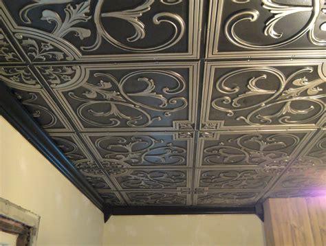 faux tin ceiling faux tin ceiling tiles cheap decorating ideas