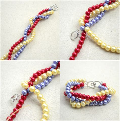 Simple Handmade Jewelry - handmade beaded jewelry designs simple pearl bracelet and