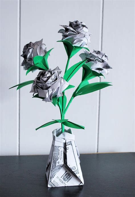 origami roses for sale origami roses money roses money flowers paper flowers