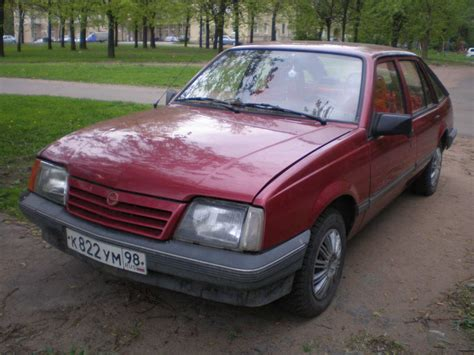Opel Ascona For Sale by 1989 Opel Ascona Pictures Gasoline Ff Manual For Sale