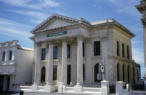 photo bank ōamaru bank buildings nzhistory new zealand history