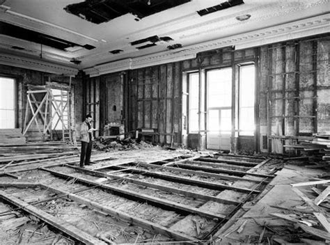 white house reconstruction 1000 images about truman reconstruction of the white house 1948 1952 on pinterest