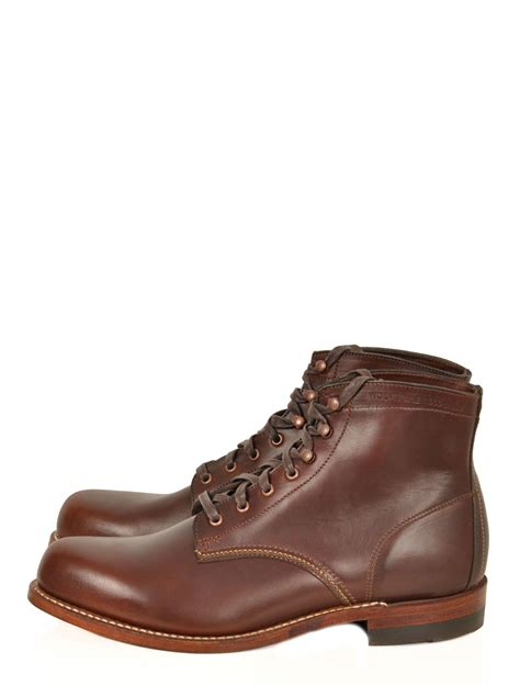 wolverine boots 1000 mile wolverine 1 000 mile boot in brown for lyst