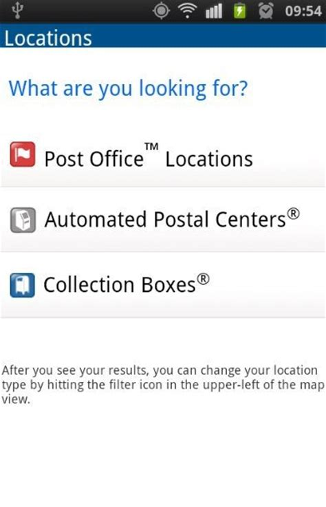 Find Post Office by Find Post Office Location With Usps Mobile For Android