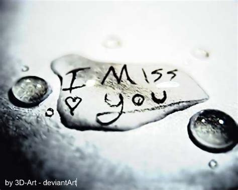 Miss you poems