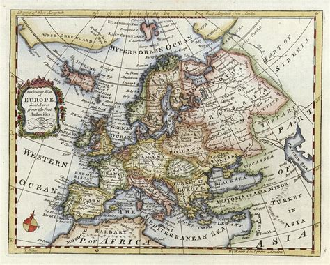 royalty free map ancient map of europe