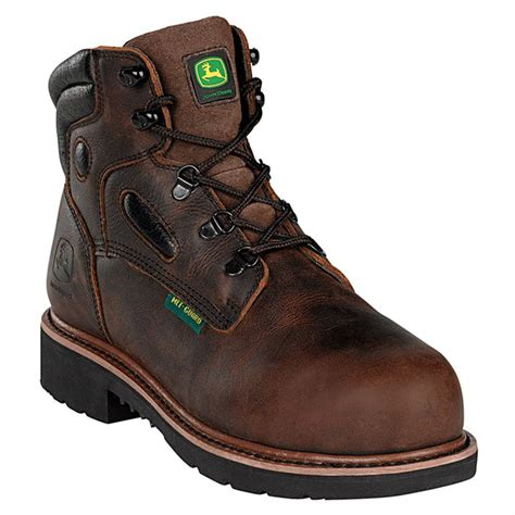 steel toe boots with metatarsal guard deere 174 6 quot metatarsal guard series steel toe work