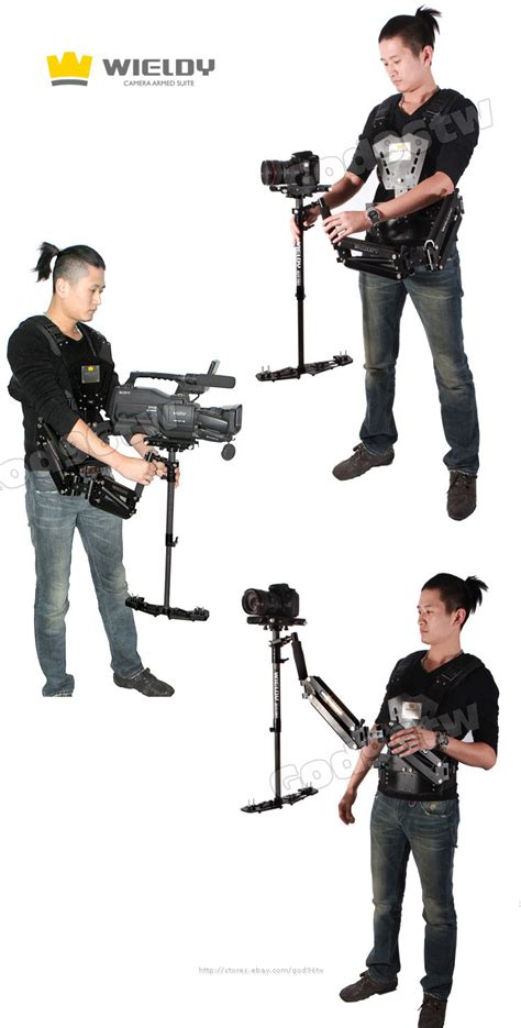 Wieldy Pro 1 7 5kg Vest Dual Arm Systems For Dslr 1 7 5kg wieldy steadicam steadycam vest dual arm for