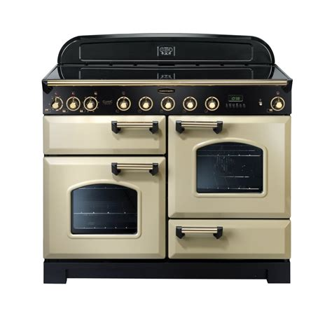 induction cooker rangemaster rangemaster cdl110eicr b classic 110 deluxe electric induction range cooker in
