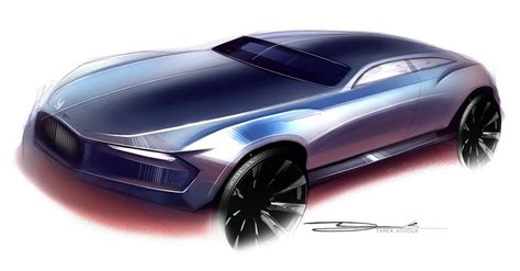 rolls royce concept car rolls royce concept design sketch by tarek ashour car