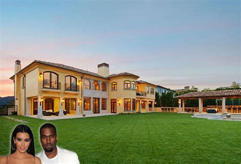 Tuscan House Design by Kanye West S And Kim Kardashian S La Mansion Put On Market