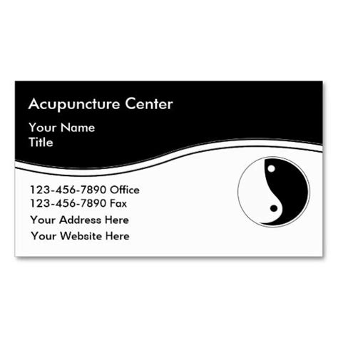 acupuncture business plan template best 176 medicine business cards images on