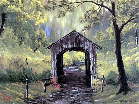 bob ross painting bridge 26 bob ross beautiful paintings npicx we