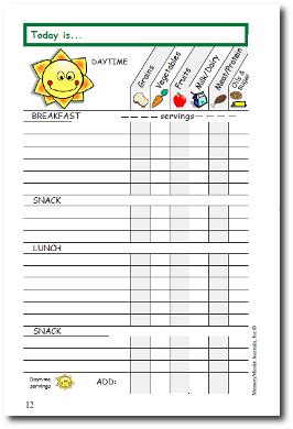 printable food diary for toddlers food diary kids diabetes inc