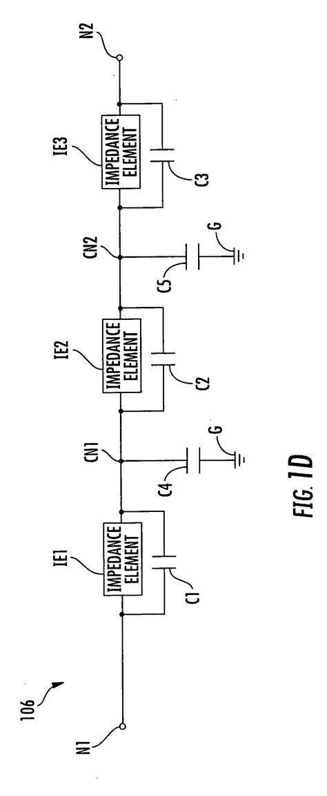 tunable capacitor network patent us20080055016 tunable impedance matching networks and tunable diplexer matching systems