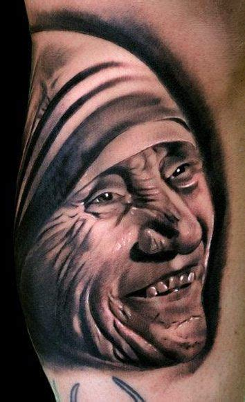 mother teresa tattoo 51 best religious tattoos images on