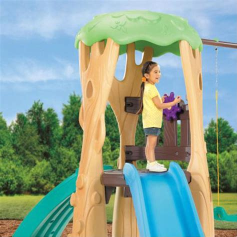 Tikes Tree House Swing Set by Treehouse Swing Set Best Educational Infant Toys Stores