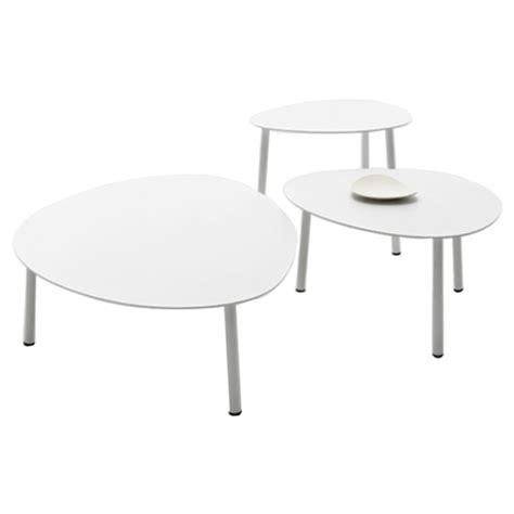 White Outdoor Coffee Table by Renava Kasos Outdoor Coffee Table Set White Dcg Stores