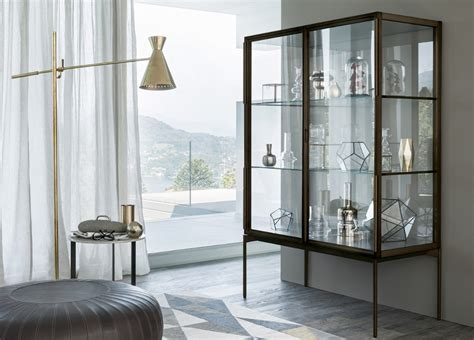 lema galerist display cabinet lema furniture  london   modern