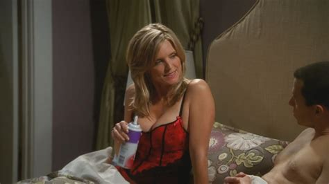 cortney thorn smith and neck cream courtney thorne smith two and a half men s08e01