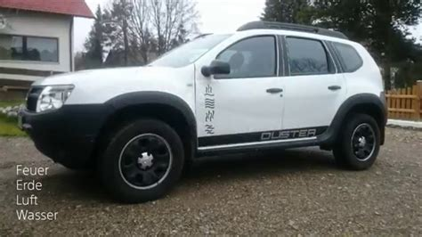 renault duster 2017 white dacia duster black and white mod youtube