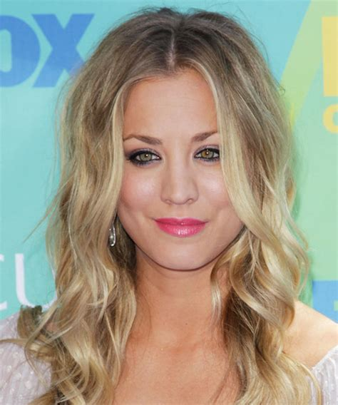 how to get kaley cuoco hairstyle kaley cuoco long wavy casual hairstyle medium blonde ash