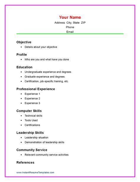 Sample Resume For High School Student Inspiration Decoration