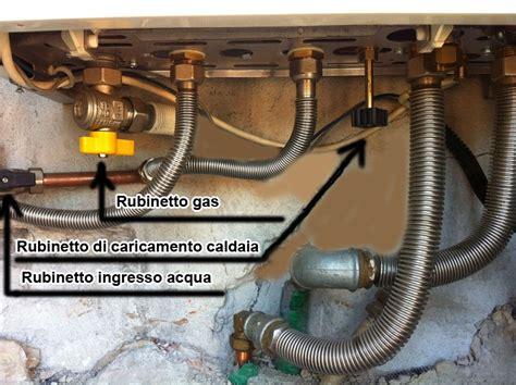 rubinetto di carico caldaia vaillant carico acqua e pressione caldaia tecnoidraulica