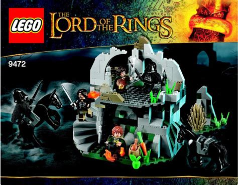 tutorial lego lord of the rings lord of the rings lego attack on weathertop instructions