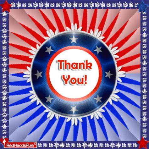 Patriotic Elegant Thank You. Free Thank You eCards