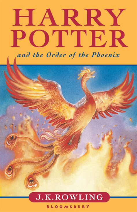 the of the a novel books order of the uk children s edition harry potter
