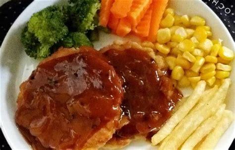 cara membuat martabak hitam resep dan cara membuat steak tempe saus lada hitam
