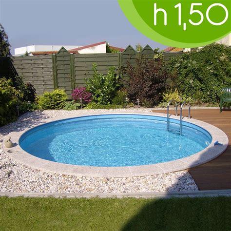 piscine da giardino interrate prezzi piscina interrata circolare clio 400 216 400 h 150
