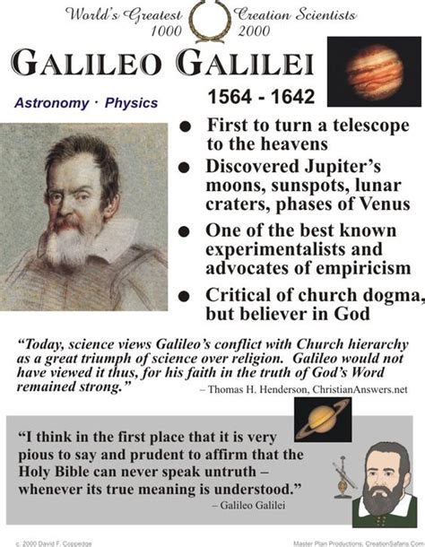 galileo galilei summarized biography pinterest the world s catalog of ideas
