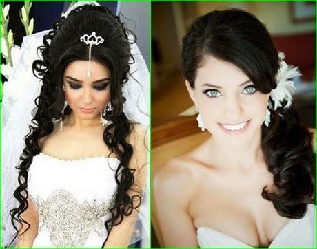 Brautfrisur Braune Haare by Hochzeitsfrisuren Dunkle Haare