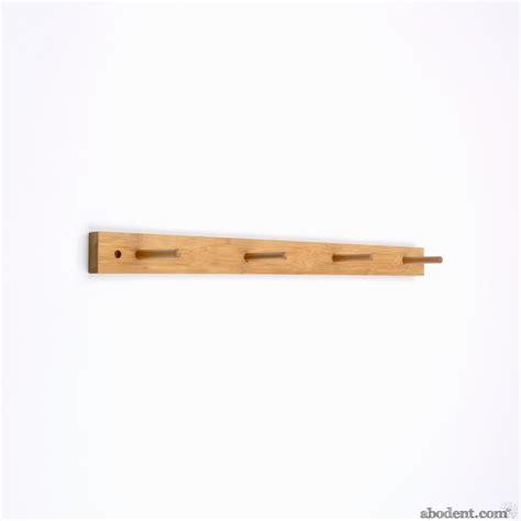 Wooden Coat Racks by Minimalist Wooden Coat Rack Wood Coat Rack Bamboo