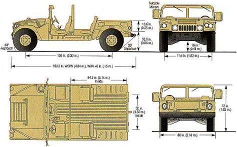 humvee blueprints tutorials3d com blueprints hummer hummer