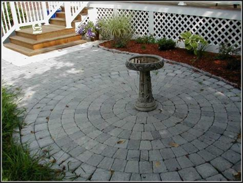 Circle Paver Patio Kits Patio Paver Kits Home Depot Patios Home Decorating Ideas Lrallrpa8j
