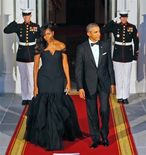 michelle obama gowns michelle obama chooses vera wang gown for china state
