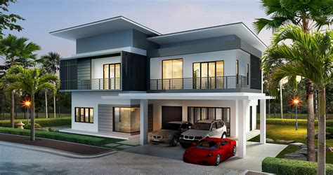 Contemporary Dining Room by Premium Bungalow The Palms Lumut
