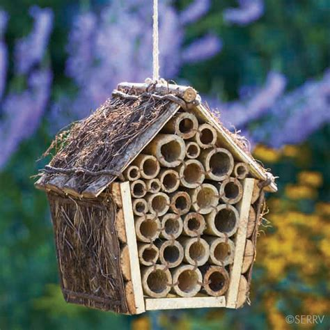 Birdhouses Chimes Mason Bee House