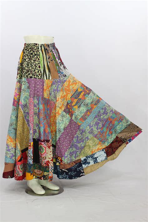 Rok Panjang 5 jual rok batik 5 pcs perca unik baru rok panjang