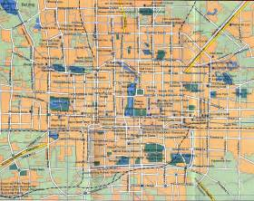 city map of maps of beijing detailed map of beijing city in