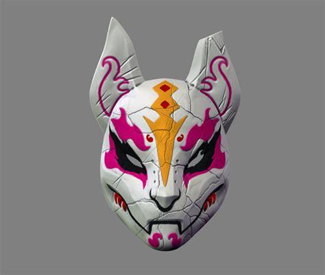 printable model fortnite drift mask special kitsune