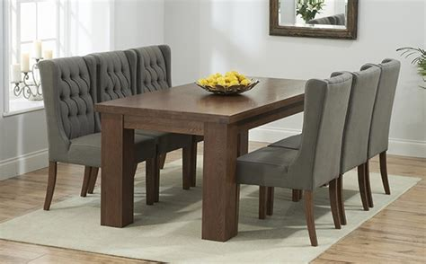 Dining Room Table With Extension by Dark Wood Dining Table Sets Great Furniture Trading