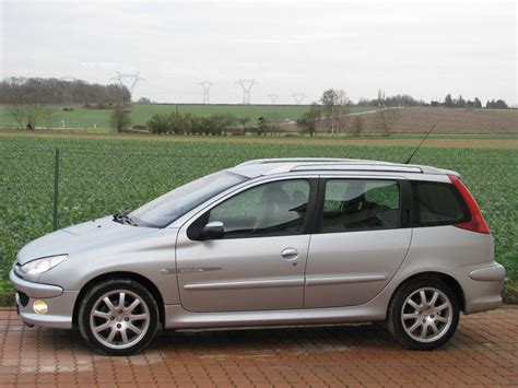 peugeot 206 sw 2005 peugeot 206 sw pictures information and specs
