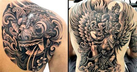 bali tattoo reviews 2014 black and grey balinese tattoos by pa udy bali tattoodo